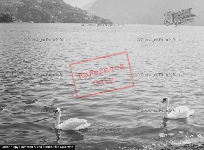 Photo of Lugano, Lake c.1938