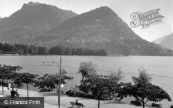 Lake, Monte Bré And Monte Boglia c.1938, Lugano