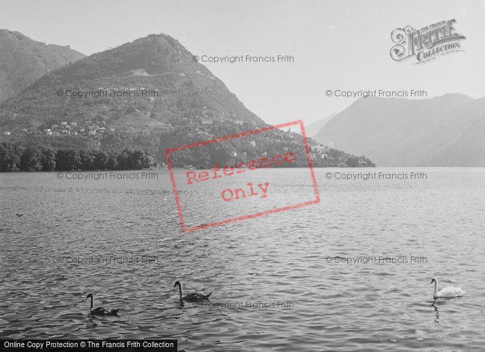 Photo of Lugano, Monte Bré c.1938