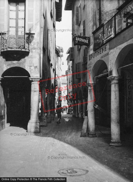 Photo of Lugano, Old Town 1938