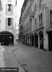Old Town, Via Nassa c.1938, Lugano