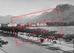 Town And Lake c.1938, Lugano
