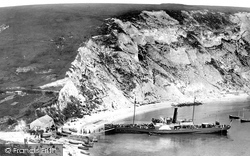 Lulworth Cove, 1894