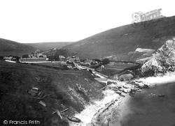 1903, Lulworth Cove