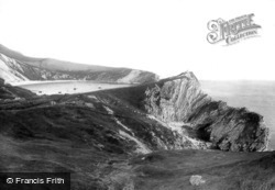And Stair Hole 1894, Lulworth Cove