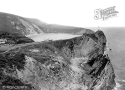 And Stair Hole 1925, Lulworth Cove
