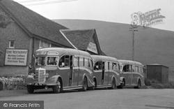 Buses c.1955, Lulworth Cove