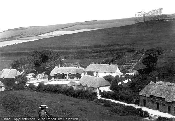 Lulworth, Castle Inn 1903