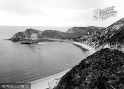 From The East 1925, Lulworth Cove