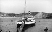 Lulworth, Going Ashore c1955