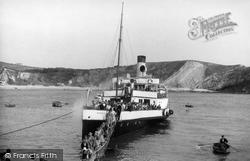 Going Ashore c.1955, Lulworth Cove