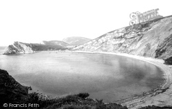 Looking West 1894, Lulworth Cove