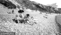The Beach c.1965, Lulworth Cove