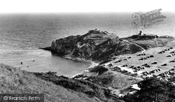 The Coastguard Lookout c.1955, Lulworth Cove