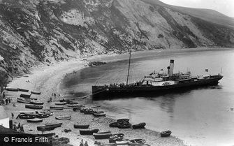 Lulworth Cove, the Steamship 1925
