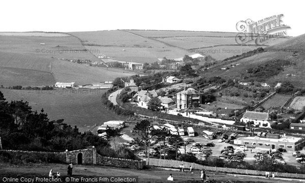 Lulworth, the Village c1960