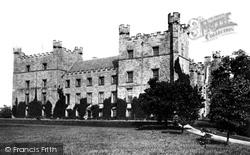 Lumley, Castle 1892, Lumley Castle