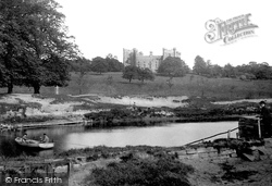 Lumley, Castle And Ferry c.1883