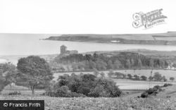 Lunan, Bay And Red Castle c.1930