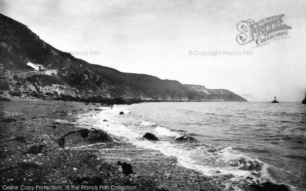 Photo of Lundy Island, 1890, ref. 24753