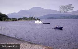 Loch Lomond Towards Ben Lomond c.1985, Luss