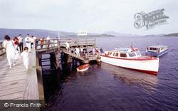 Pier, The Loch Lomond Ferry c.1985, Luss