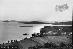 Straits Of Luss c.1935, Luss