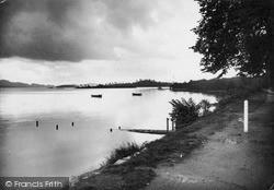 The Loch Side c.1935, Luss