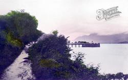 The Pier c.1935, Luss