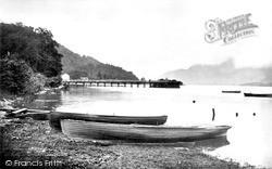 The Pier Landing, Loch Lomond c.1935, Luss