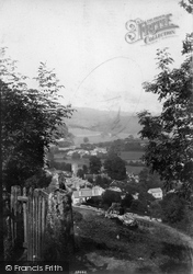 Lustleigh, From The Crags 1907