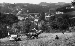 Lustleigh, From The East 1920