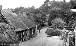 Lustleigh, The Old Smithy c.1955