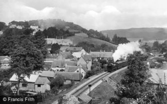 Lustleigh, the Railway 1920