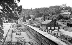 Lustleigh, The Station c.1955