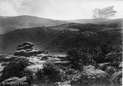 Lustleigh, View From Lustleigh Cleave 1920