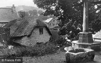 Lustleigh, War Memorial and Village c1930