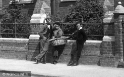 Luton, Boys At The Higher Grade School 1897