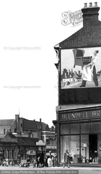 Photo of Luton, c.1950
