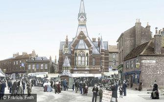 Luton, Corn Exchange 1897