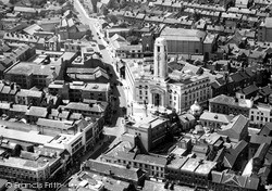 From The Air c.1955, Luton