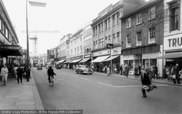 Photo Of Luton George Street C 1960 Francis Frith