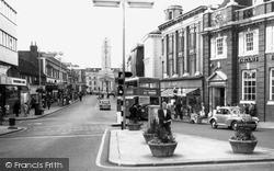George Street c.1965, Luton