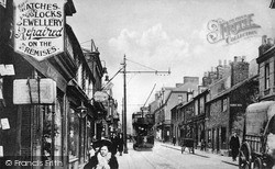 Luton, High Town Road c.1900