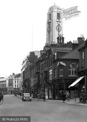 Luton, Manchester Street c.1950