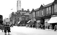Luton, Manchester Street c1955