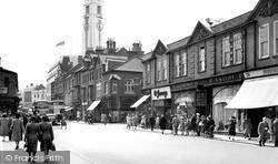 Manchester Street c.1955, Luton