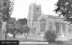 Luton, St Mary's Church c.1950