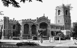 St Mary's Church c.1955, Luton