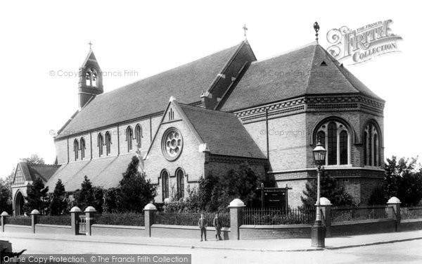 Luton, St Matthew's Church 1897